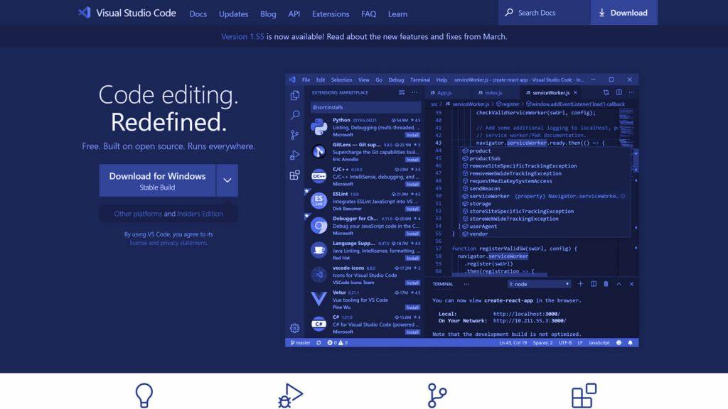 Visual Studio Code e unul din cele mai bune IDE-uri făcute vreodată, și e unul pe care-l folosesc și eu cu plăcere